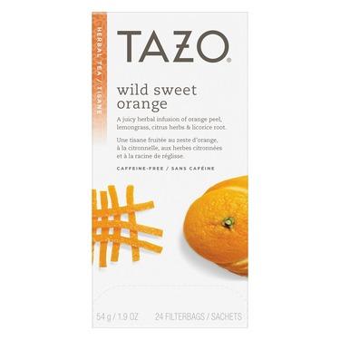 Tazo Wild Sweet Orange Herbal Tea