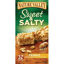Nature Valley Sweet & Salty Nut Granola Bars in Peanut
