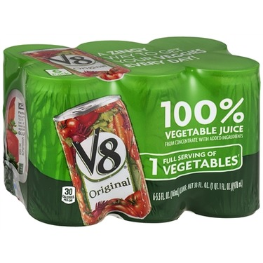V8 Vegetable Juice — Individual Cans