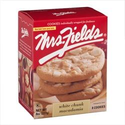 Mrs. Fields White Chunk Macadamia Cookies