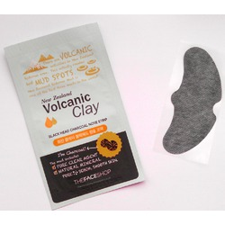 The FACE Shop Volcanic Clay Blackhead Charcoal Nose Strip