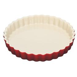 Le Creuset Stoneware Pie Dish in Cherry