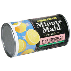 Minute Maid Pink Lemonade Frozen Concentrated
