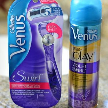 Venus Swirl Razor