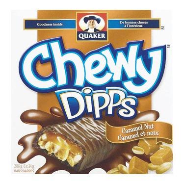 Quaker Chewy Dipps Caramel Nut