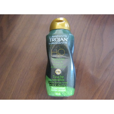 Trojan H2O Water-Based Lubricant - Sensitive Touch
