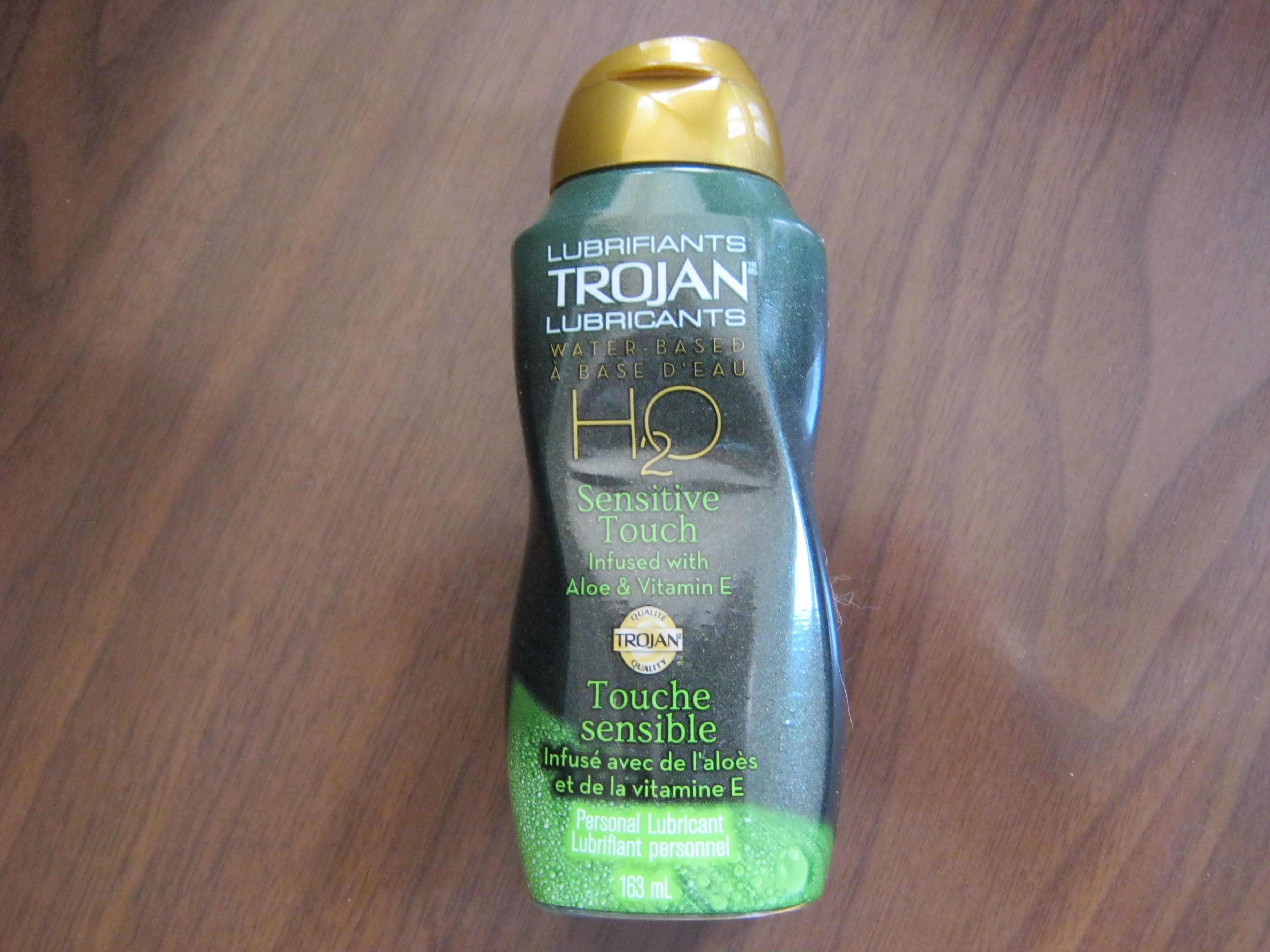 Trojan H2o Water Based Lubricant Sensitive Touch Reviews
