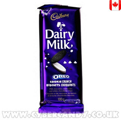 Cadbury Dairy Milk Oreo Cookie Crunch