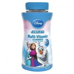 Disney's Frozen multi-vitamin gummies