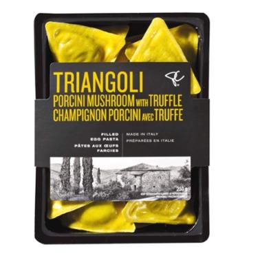 Presidents Choice black label porcini mushroom & truffle filled triangoli