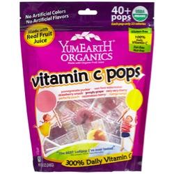 Yummy Earth Organics Vitamin C Pops