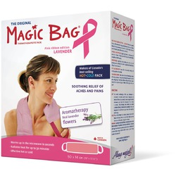 The Original Magic Bag Thermotherapeutic Pack — Pink Ribbon Edition Lavender
