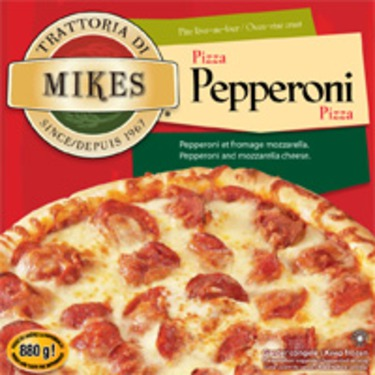 Trattoria di Mikes Pepperoni Pizza