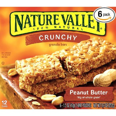Nature Valley Crunchy Granola Bars — Peanut Butter