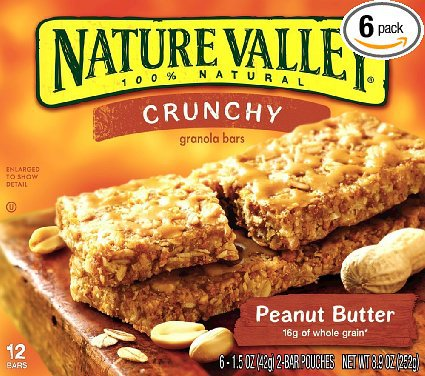 Nature Valley Crunchy Granola Bars — Peanut Butter reviews