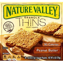 Nature Valley Granola Thins — Peanut Butter