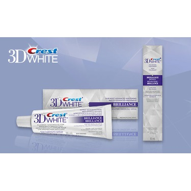 Crest 3D White Brilliance Toothpaste & Boost