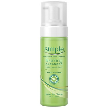 Simple Kind To Skin Foaming Facial Cleanser
