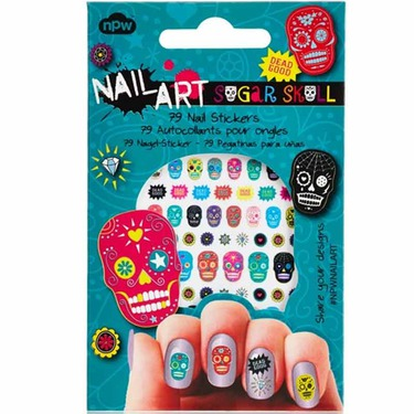 Npw Nail Art Sugar Skulls Nail Stickers Reviews In Nail Polish