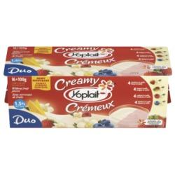 Creamy Yoplait Vanilla Duo Yogurt