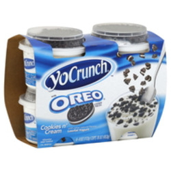 YoCrunch Oreo Yogurt Packs