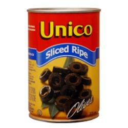 Unico Sliced Ripe Black Olives