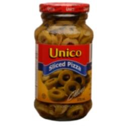 Unico Sliced Green Olives