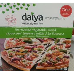 daiya  deliciously dairy free fire-roasted vegetable pizza