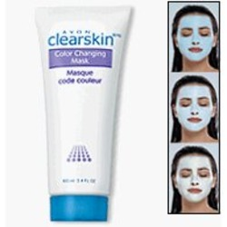 Avon Clear Skin Color Changing Mask