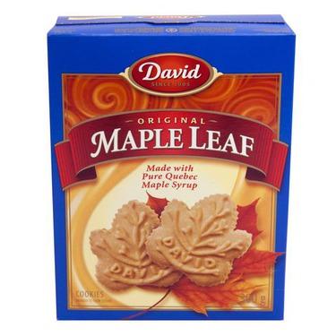 David Maple Leaf Cookies