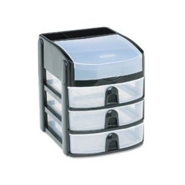 Rubbermaid Mini 3 Drawer Tower