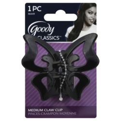 Goody Classics Butterfly Medium Claw Clip
