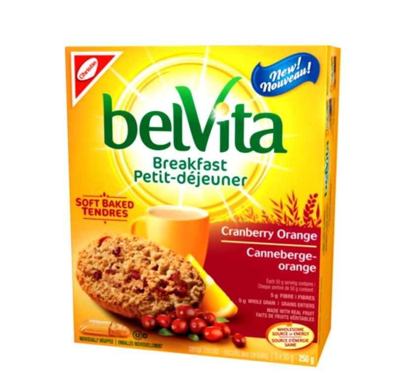 BelVita Breakfast Cranberry Orange