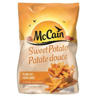 McCain Sweet Potato Plank Cut Fries reviews in Frozen Potatoes