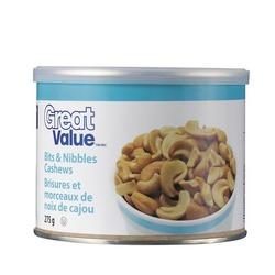 Great Value Bits & Nibbles Cashews
