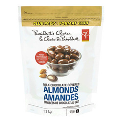 President's Choice Milk Chocolate Covered Almonds
