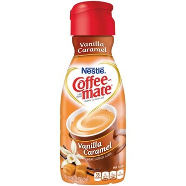 Coffee-mate Coffee Creamer, Vanilla Caramel Liquid Creamer