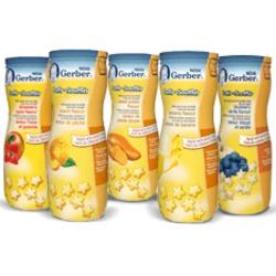 Nestlé Gerber Puffs Blueberry Vanilla Flavour