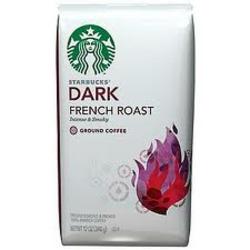 Starbucks Dark French Roast Ground Coffee