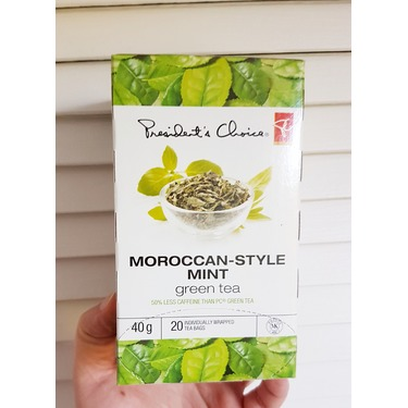 President's Choice Moroccan-Style Mint Green Tea