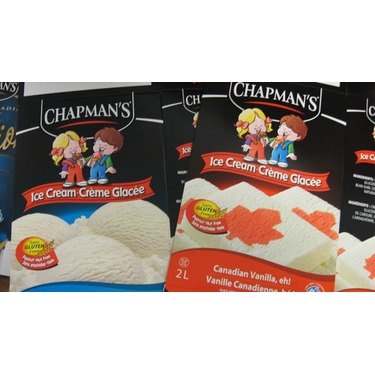 Chapman's Vanilla Chocolate Chip ice cream