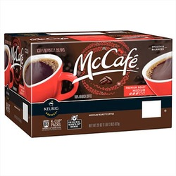 McCafe coffee pods for Keurig home brewing