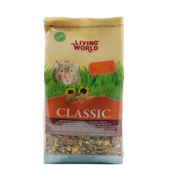 Living World Hamster Food — Classic