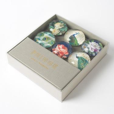 Fringe Studio — Peacock Glass Magnets