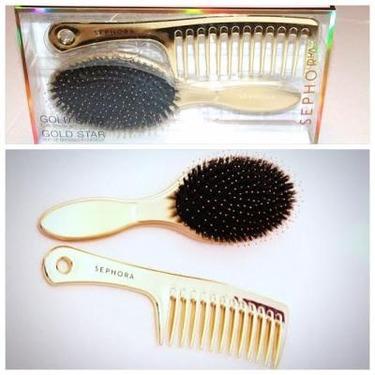 Sephora Collection Gold Brush Comb Set