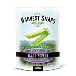 Snapea Crisps Black Pepper