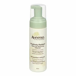 Aveeno Active Naturals Positively Radiant Make-Up Removing Cleanser