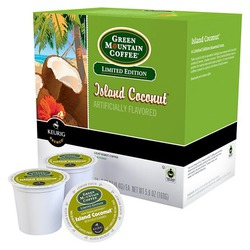 Keurig island coconut coffee