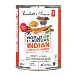 President's Choice Indian Mulligatawny Soup