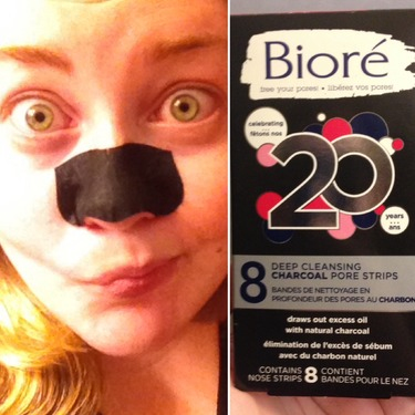Biore Deep Cleansing Charcoal Pore Strips